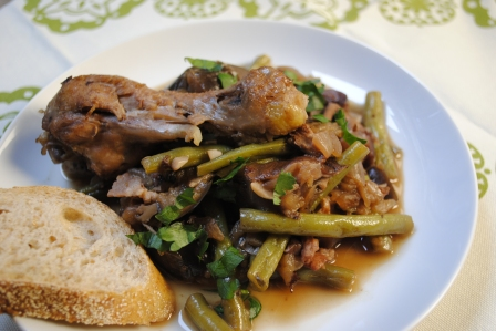 Vegetables au Vin with Coq 2