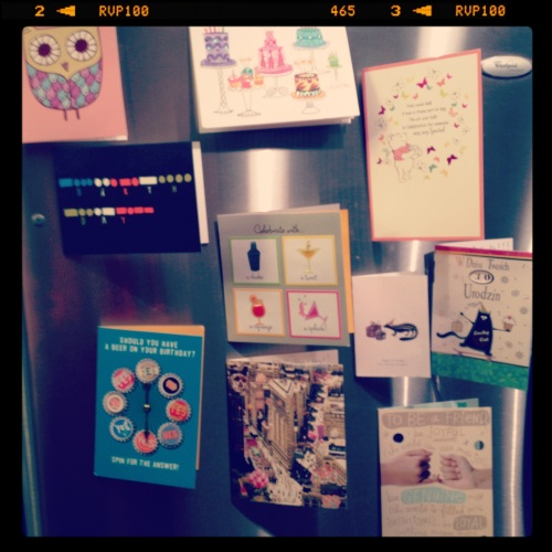 February 2013: Birthday Cards